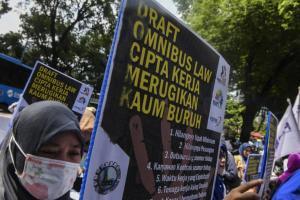 DPD KSPSI Sampaikan Lima Tuntutan di 'May Day' 2020
