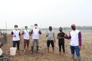 Pesisir Kab. Tangerang Alami Abrasi, Pemkab Tangerang Tanam 2.000 Mangrove