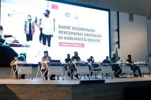 Bupati Bogor Canangkan Bulan Vaksinasi Covid-19