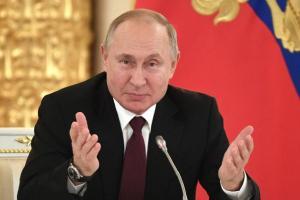 Positif Covid-19, Presiden Rusia Jalani Isolasi Mandiri
