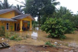 Banjir di Kabupaten Serang Berangsur Surut