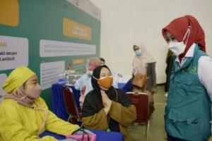 Ditutup, Sentra Vaksinasi Si Jalak Harupat Bandung Lampaui Target