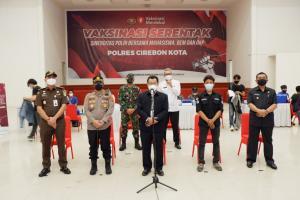 Wali Kota Cirebon Optimis Herd Immunity Tercapai November 2021
