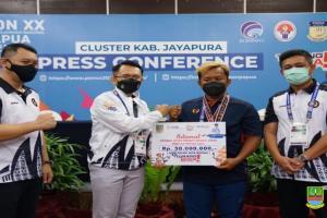 Atlet Kab. Bekasi Peraih Medali PON Papua Terima Bonus Rp50 Juta