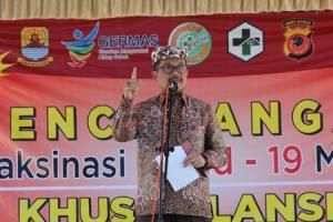 Vaksinasi Lansia di Cirebon Baru Capai 10 Persen