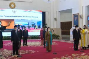 Presiden Lantik Megawati Jadi Ketua Dewan Pengarah BRIN