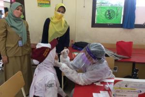 Kampanyekan Germas di Sekolah, Pemkot Depok Gelar Tes Antigen Gratis