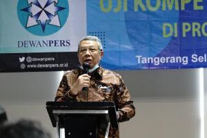 Wali Kota Tangsel Dukung Pelaksanaan Uji Kompetensi Wartawan