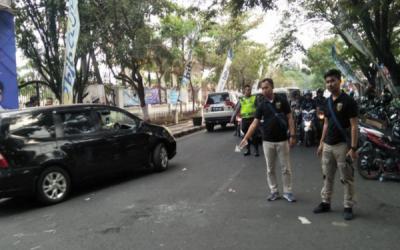 Halau Mahasiswa Bakar Ban, 4 Polisi Cianjur Alami Luka Bakar