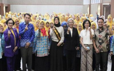 Bunda PAUD Kota Bogor Beri Kuliah ke Himpaudi
