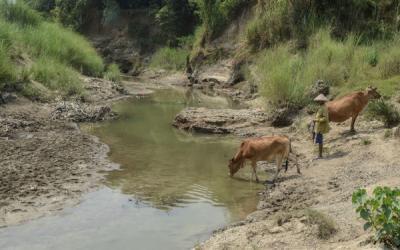 Kekeringan, Warga Leles Cianjur Butuh Bantuan Air Bersih
