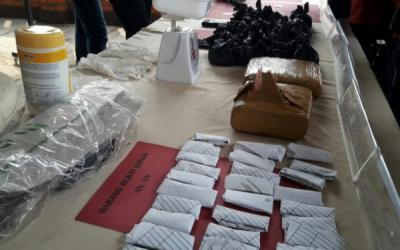 Polres Cianjur Tangkap Bandar Narkoba