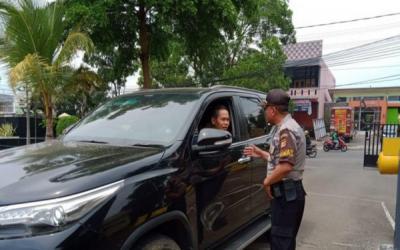 Pengamanan di Mako Polres Cianjur Diperketat