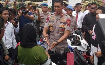 Polres Indramayu Ringkus Pelaku Curanmor Antarprovinsi