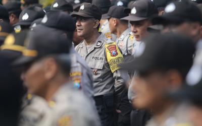 Polres Cimahi Kerahkan Personel Amankan Pilkades di Bandung Barat