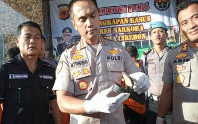 Polresta Cirebon Gagalkan Penyelundupan Sabu-sabu