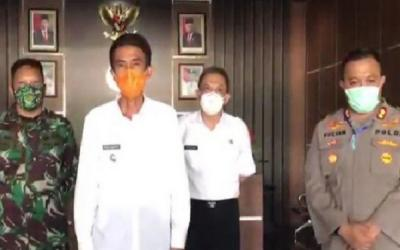 Dua Orang Positif COVID-19 di Banjar