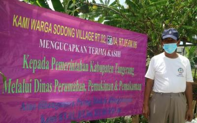 Disperkim Tangerang Salurkan 37 Fasos dan Fasum Tahun Ini