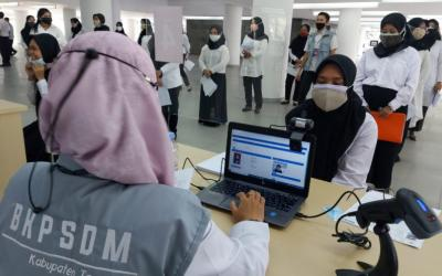 BKPSDM Tangerang Jadwal Ulang SKD CPNS Positif Covid-19