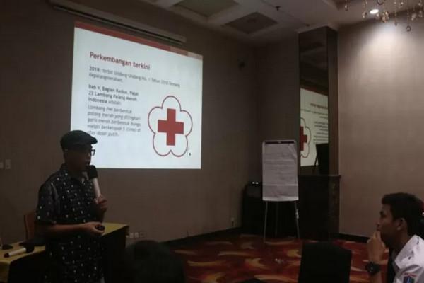 PMI Gelar Sosialisasi SOP Komunikasi Saat Bencana