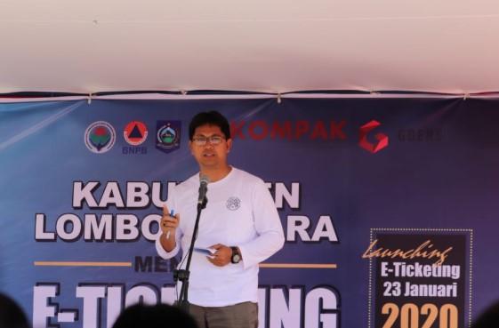 Sistem E-Ticketing Menuju Tiga Gili di Lombok Diresmikan